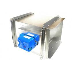 Volet motorisé pour système de zonage Carrier DAMPREC08X18-B