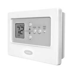 Comfort Non-Programmable Thermostat TCSNHP01-A Carrier Non-programmable Thermostat