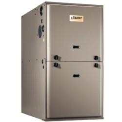 Fournaise au gaz Luxaire 40 à 130 MBH TG9S (série Climasure)
