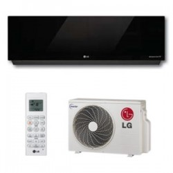 LG Art Cool Mirror Ductless Highwall Heat Pump System