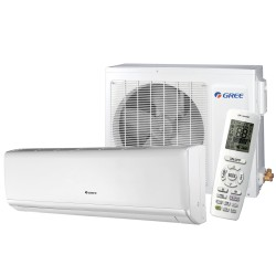 Gree - Wall Unit Heatpump Lomo Series 9000 Btu SEER-16