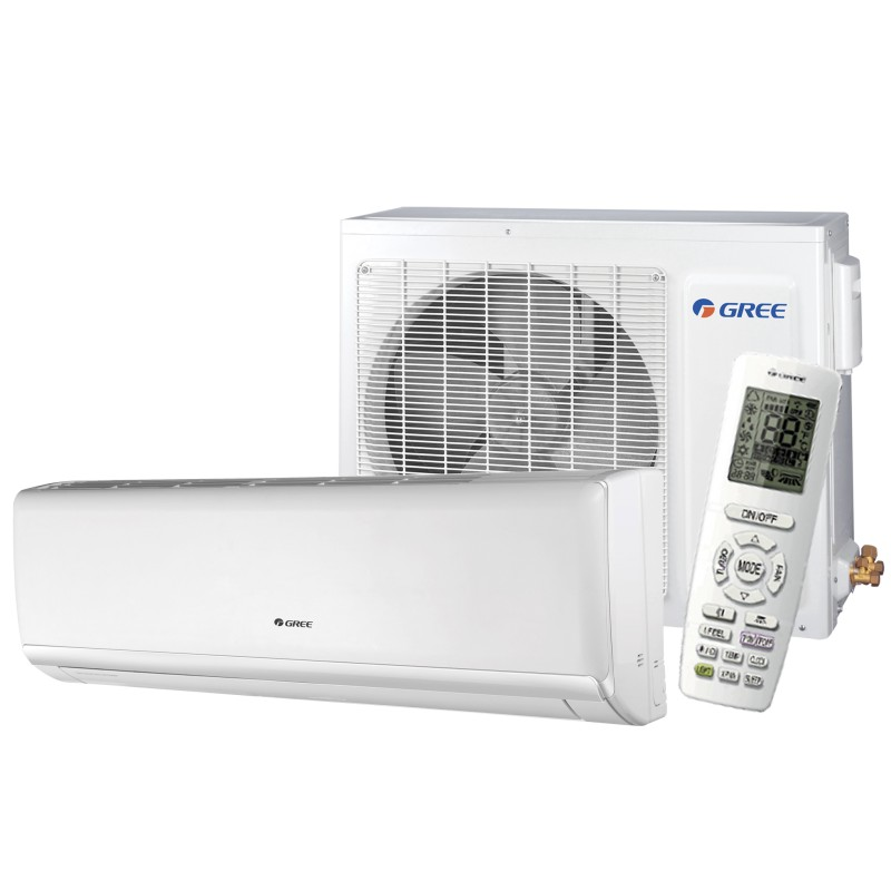 Gree Wall Unit Heatpump Lomo Series 9000 Btu Seer 16