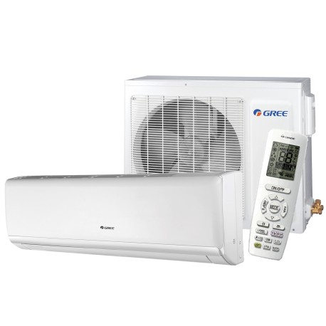 Gree - Wall Unit Heatpump Lomo Series 24000 Btu SEER-16