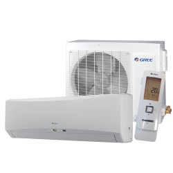 Gree - Wall Unit Heatpump Hansol Series 9000 Btu SEER-27