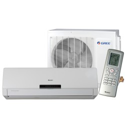 Gree - Wall Unit Heatpump Cozy Series 30000 Btu SEER-18