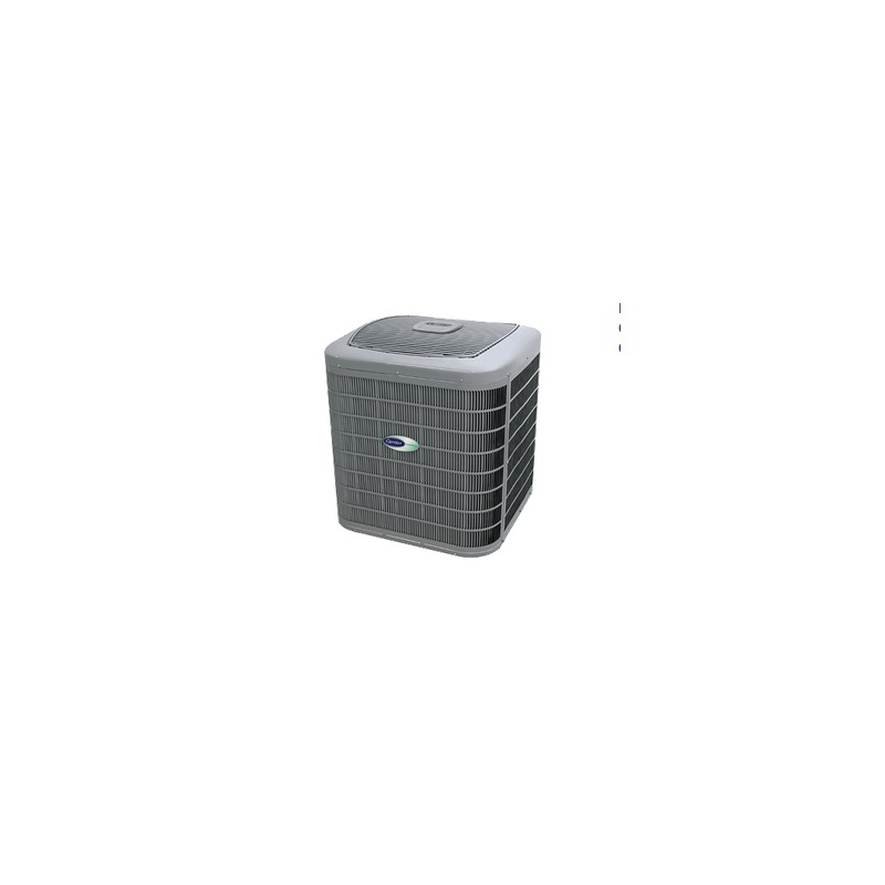 Thermopompe centrale carrier infinity 25hnb6 tran for Climatiseur mural carrier