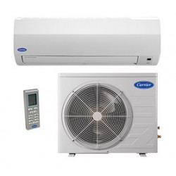 Carrier Ductless Highwall Heat Pump System GV-GVQ