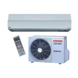 Toshiba-Carrier Ductless Highwall Heat Pump System RAS-22EAV-UL