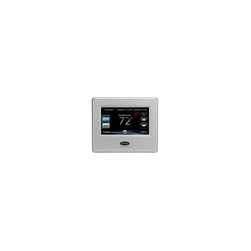 thermostat carrier infinity touch avec acc s distance tran climatisation. Black Bedroom Furniture Sets. Home Design Ideas