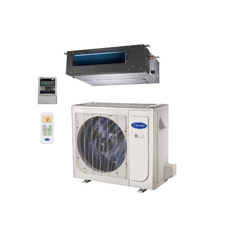 Carrier Heat Pump with Basepan Heater 38MAQB09---1